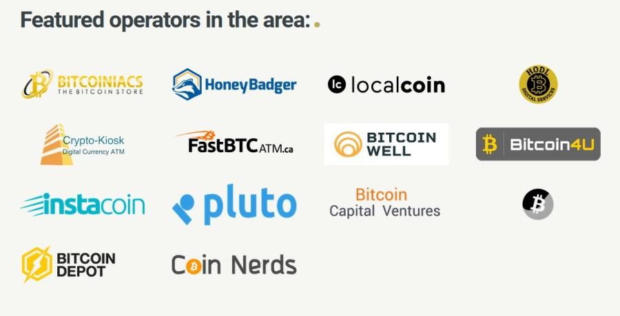 Bitcoin operators in Toronto