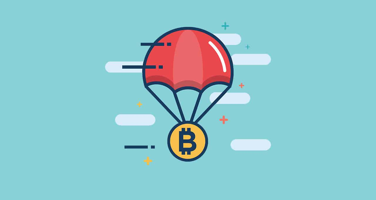 Crypto airdrops - cryptocurrency you can receive for social