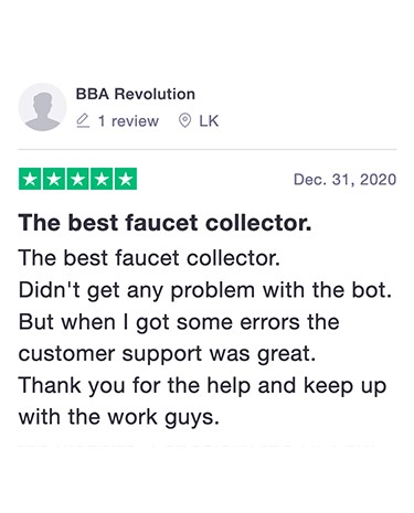 Review of FaucetCollector.com